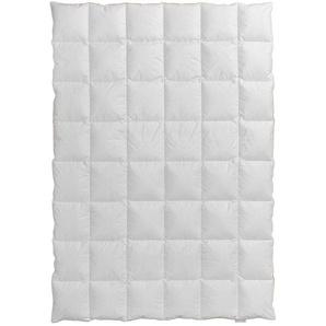 Centa-Star Daunenbettdecke, Weiß, Baumwolle 155 x 220 cm