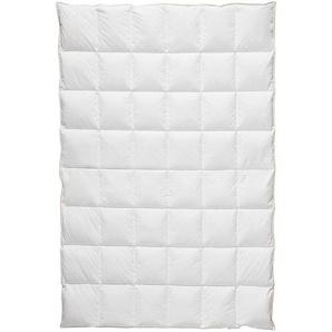 Centa-Star Daunendecke 135/200 cm , Weiß , Textil , 135x200 cm