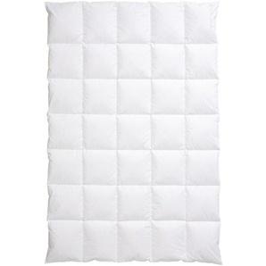 Centa-Star Daunendecke 155/220 cm , Weiß , Textil , 155x220 cm