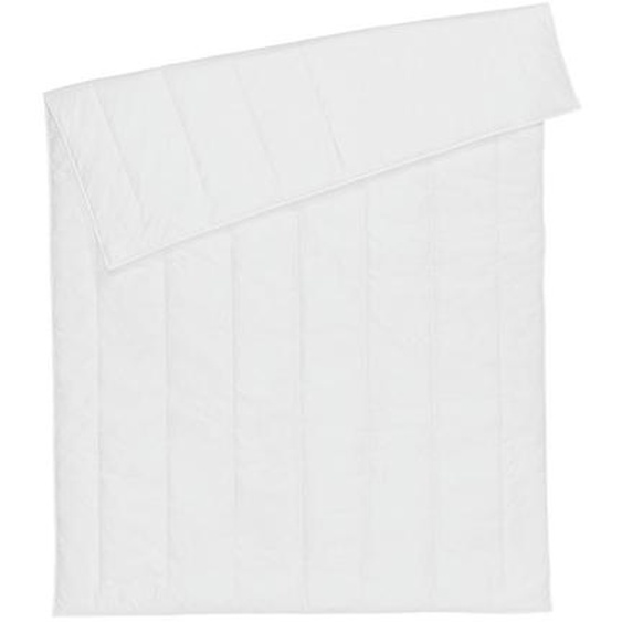 Centa-Star Sommerbett Allergo Protect 135/200 cm , Weiß , Textil , 135 cm