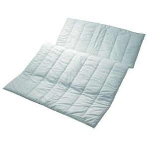 Centa-Star Sommerbett Famous 155/220 cm , Weiß , Textil , 155x220 cm