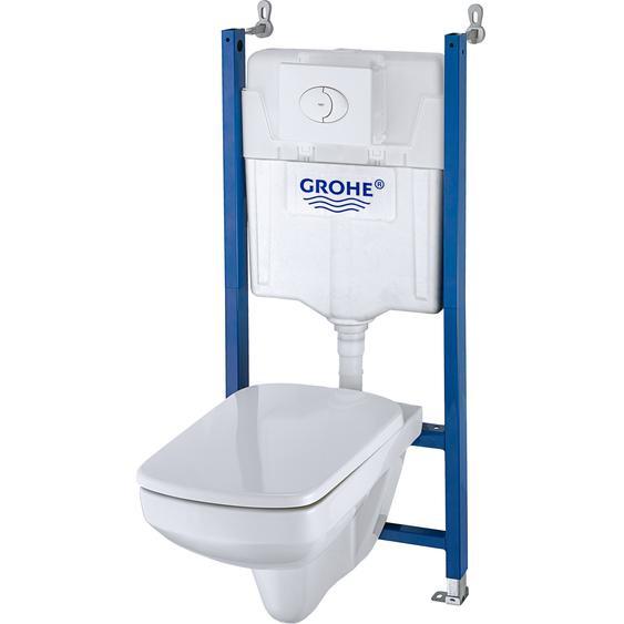 Ceravid Tiefspül-Wand-WC Vanea mit Trockenbauvorwand-Element