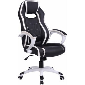 Racing / Gamer Chair »Silver«, Homexperts