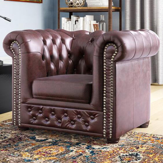 Chesterfield-Sessel Auer