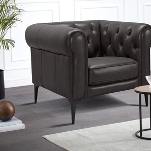 Premium collection by Home affaire Chesterfield-Sessel »Tobol«, braun