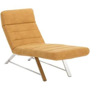 Chilliano Liege Braun , Textil , 1-Sitzer , 65x91-95x170-200 cm