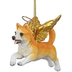 Christbaumschmuck - Ehren Der Pooch Welsh Corgi Feiertags-Engels-Hundeornamente