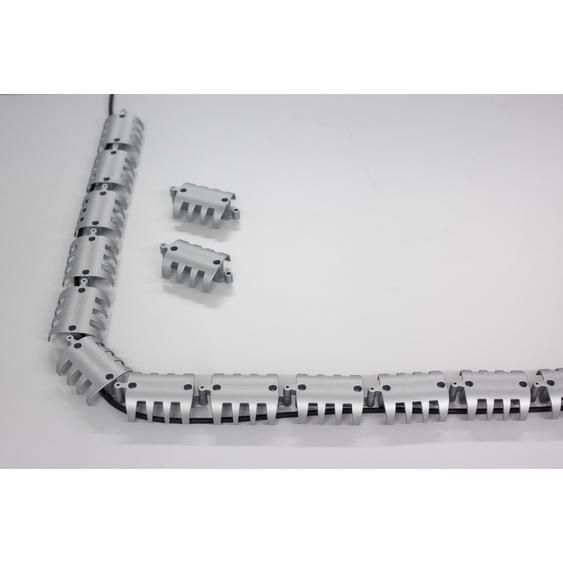 CKHO | Kabelspirale horizontal - Silber