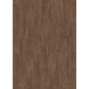 Click-Vinylboden 10 Stück 122 x 18 x 0,42 cm Santana Oak