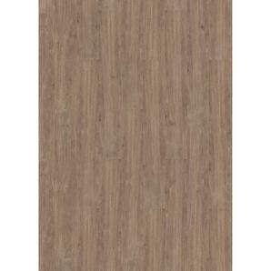 Click-Vinylboden 10 Stück 122 x 18 x 0,42 cm Eiche Barrique