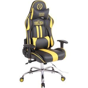 Bürostuhl Limit XM Kunstleder-schwarz/gelb - CLP