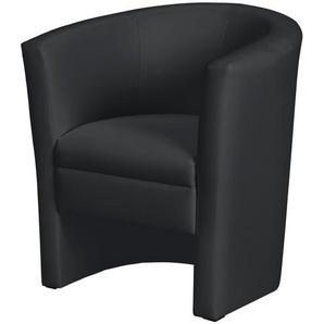 Cocktailsessel schwarz - Kunstleder Boel ¦ schwarz ¦ Maße (cm): B: 73 H: 78 T: 60 Polstermöbel  Sessel  Cocktailsessel » Höffner
