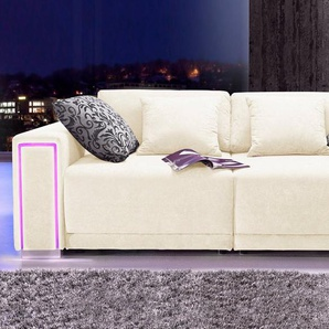 COLLECTION AB Big-Sofa, Größe L - XXL, inklusive LED-RGB Beleuchtung