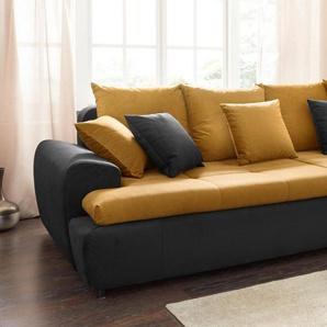 Collection AB Mega-Sofa, inklusive loser Zier- und Rückenkissen