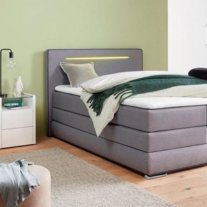 COLLECTION AB Boxspringbett, inkl. Bettkasten, LED-Beleuchtung und Topper