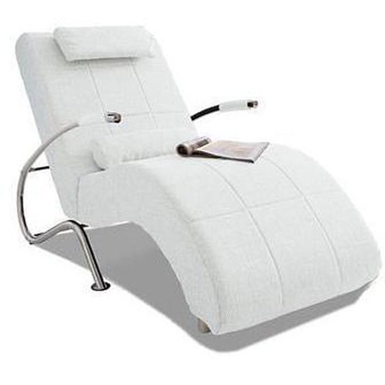 COLLECTION AB Relaxliege Kunstleder SOFTLUX®, 78 cm, Mit Kippfunktion weiß Relaxliegen Sessel Sofas