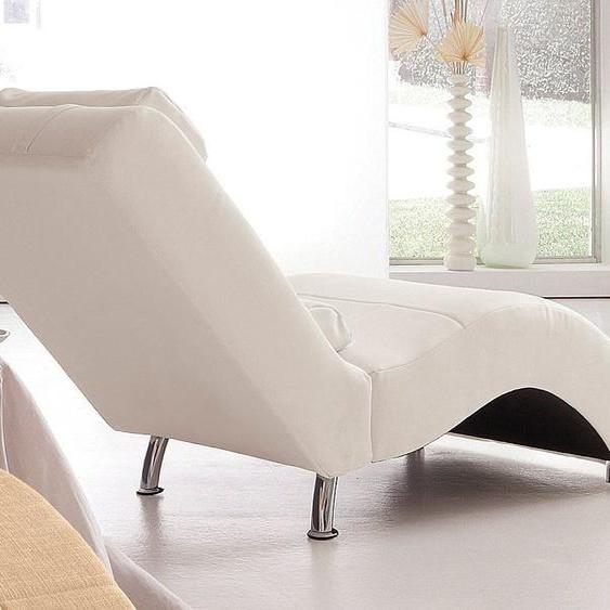 COLLECTION AB Relaxliege Microfaser PRIMABELLE®, 66 cm, Ohne Kippfunktion beige Relaxliegen Sessel Sofas