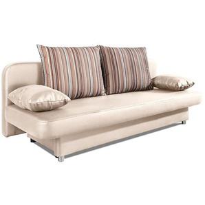 schlafsofas in beige preisvergleich moebel 24. Black Bedroom Furniture Sets. Home Design Ideas