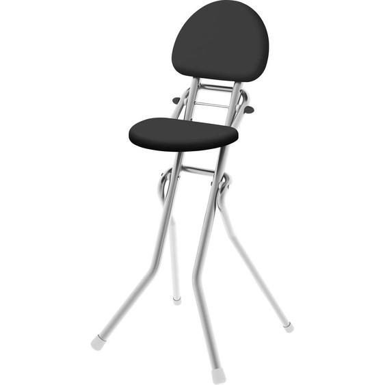 Colombo Newscal Stehhilfe Amigo B/H: 43 cm x 111 cm, Polyester-Baumwolle uni silberfarben Klappstühle Weitere Stühle Sitzbänke
