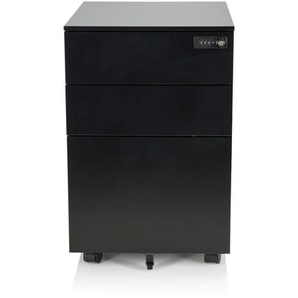 COLOR OS I - Rollcontainer Schwarz