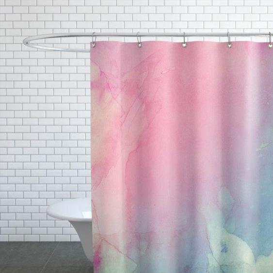 Color Shadows-Duschvorhang