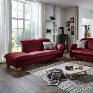 ComfortPlan Sofa, Rot, Mikrofaser