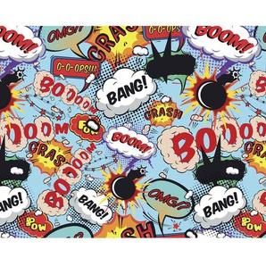 Comic Pop Fototapete 240 cm x 300 cm in 6 Teilen