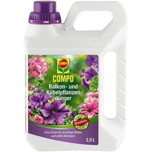 Compo Dünger für Balkon- und Kübelpflanzen 2,5 l
