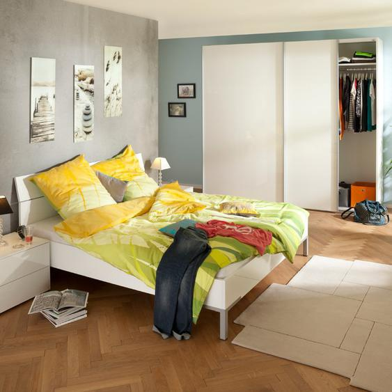 Composad Bett, Weiß, Kunststoff 180 x 200 cm