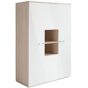 Composad Kleiderschrank, Weiß, Kunststoff