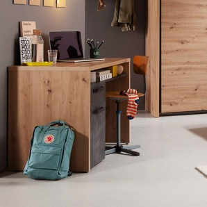 Composad Schreibtisch, Eiche, Holz