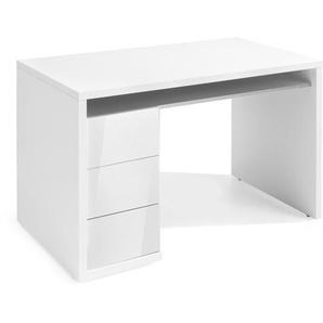 Composad Schreibtisch, Weiß, Kunststoff