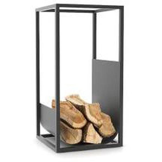 Conmoto - Cube Brennholzregal, schwarz