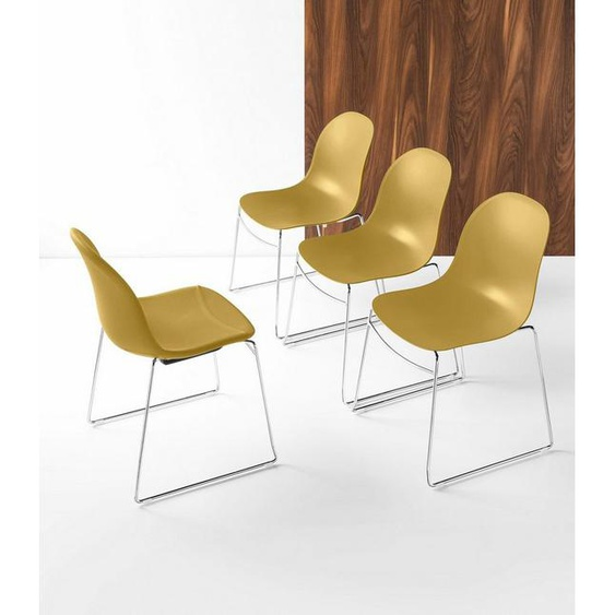 connubia by calligaris Stapelstuhl »Academy CB/1696« im 2er-Set