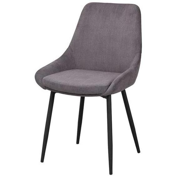 Cord Stühle in Grau Skandi Design (2er Set)