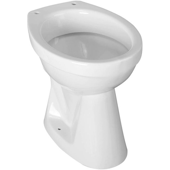 CORNAT Tiefspül-WC, Keramik Einheitsgröße weiß WC-Becken WC Bad Sanitär Tiefspül-WC