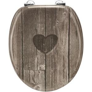 Cornat WC-Sitz Herz, lackiert