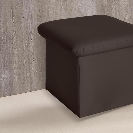 COTTA Hocker, FSC®-zertifiziert, braun