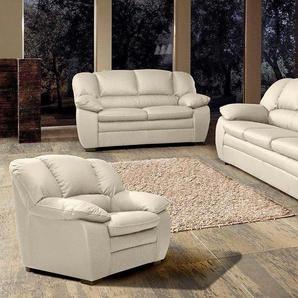 COTTA Polstergarnitur, (Set, 3-tlg), Garnitur: Sessel, 2-Sitzer, 2,5-Sitzer