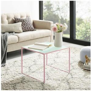 COUCH♥ Couchtisch »Tischlein Deck Dich«, aus Metall mit Tischplatte aus Glas, COUCH Lieblingsstücke