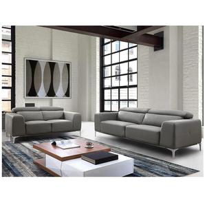 Couchgarnitur 3+2 Wanaka - Grau