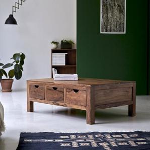 Couchstisch Beistelltisch Wohnzimmertisch Palisanderholz 110x75 cm Neu