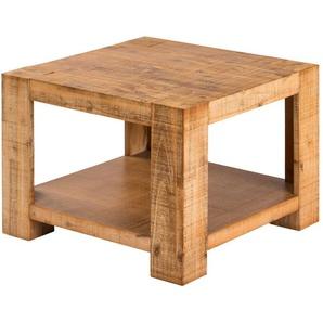 Couchtisch Akazienholz massiv  Tinetto ¦ holzfarben ¦ Maße (cm): B: 60 H: 45 Tische  Couchtische  Couchtisch Massivholz » Höffner