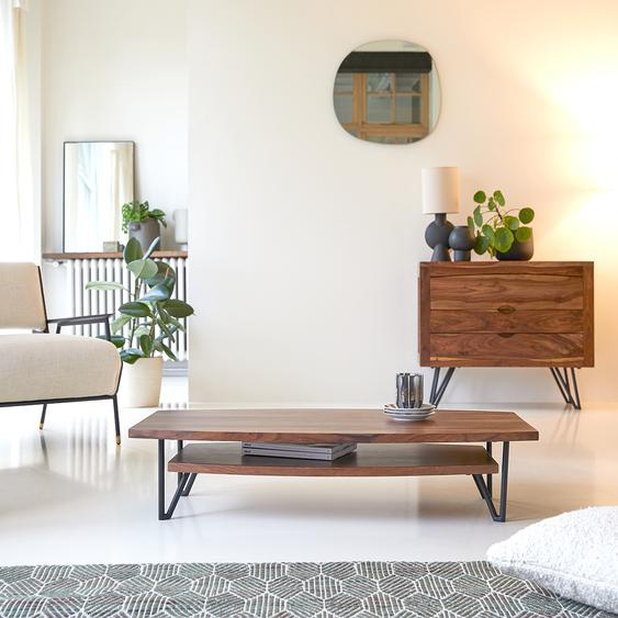 Couchtisch aus Palisanderholz Sheesham Massivholz 110x60 cm