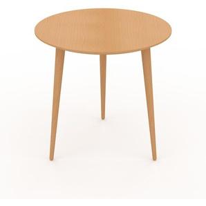 Couchtisch Buche, Holz - Eleganter Sofatisch: Beste Qualität, einzigartiges Design - 50 x 50 x 50 cm, Konfigurator