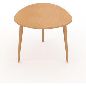 Couchtisch Buche, Holz - Eleganter Sofatisch: Beste Qualität, einzigartiges Design - 67 x 44 x 50 cm, Konfigurator