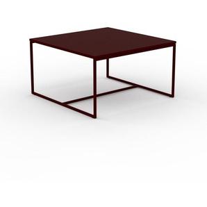 Couchtisch Burgundrot - Eleganter Sofatisch: Beste Qualität, einzigartiges Design - 81 x 46 x 81 cm, Konfigurator