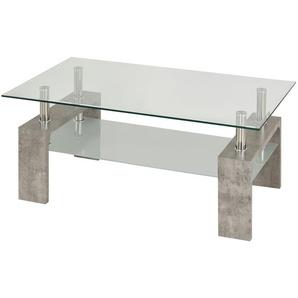 Couchtisch  Elba ¦ grau ¦ Maße (cm): B: 60 H: 45 Tische  Couchtische  Couchtische rechteckig » Höffner
