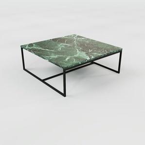 Couchtisch Marmor, Grüner Guatemala - Eleganter Sofatisch: Beste Qualität, einzigartiges Design - 81 x 31 x 81 cm, Konfigurator