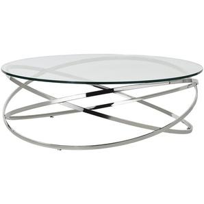 Couchtisch  Todor ¦ silber ¦ Maße (cm): H: 35 Ø: [105.0] Tische  Couchtische  Couchtische rund » Höffner